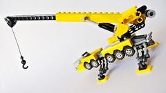 Microscale Crane Liebherr (hajdekr) Tags: toy lego crane small system malý microspace liebherr jeřáb microscale hračka stavebnice hraní thelegogrouporganization legotoyline