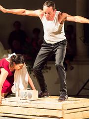 L'Altra Opera, Giuseppe Verdi, agricoltore (Mauro Taraborelli) Tags: summer italy night europe theatre 85mm actor entertainer marche senigallia ancona canonfd robertabiagiarelli micro43 panasonicdmcg3 laltraoperadigiuseppeverdi museodistoriadellamezzadria sandrofabiani conventodellegrazie