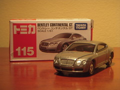 Bentley Continental GT 1:61 Diecast By Tomica (PaulBusuego) Tags: china door uk 2 english hardtop scale car japan silver volkswagen toy spur japanese 22 flying model european unitedkingdom azure continental convertible grand made exotic crewe german cylinder british rolls 12 gt elegant expensive audi takara coupe exclusive touring v8 royce bentley tomy v12 fastback phaeton diecast seraph tomica arnage handbuilt supersports