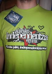 03 FIESTAS VITORIA 2013 - Poltica-Independencia (Fotos de Camisetas de SANTI OCHOA) Tags: paisvasco independencia politica euskera