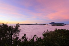 Sunrise on the Bromo (VincentDcs) Tags: pink mountain clouds sunrise canon indonesia landscape photography volcano java photo photos bromo canon1022 600d canon600d
