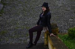 Suria (Mandy Fujita) Tags: brasil moda rosa maquiagem modelo sp frio suria paranapiacaba bota couro jaqueta