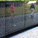Maya Lin, Vietnam Veterans Memorial, reflection