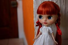 Red head lady Blythe