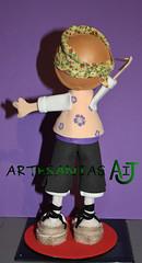 Fofucho baturro espalda (Artesanias AIJ) Tags: recuerdo regalo artesania baturro regionales manualidad gomaeva jotero fofucha