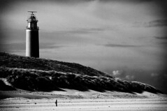 Isle of Texel, Eierland Lighthouse (Hans de Meij) Tags: lighthouse monochrome texel artlegacy