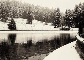 Winter Reservoir, Mount Tabor Park, Portland