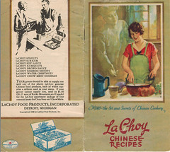 La Choy pamphlet cover, 1927 (Southern Foodways Alliance) Tags: soup neworleans noodles soulfood secondline neworleansfood yakamein yakami neworleanscooking yakameinlady secondlinefood yakimi