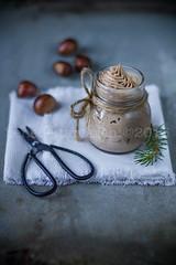 mousse di castagne e vaniglia (benedettamarchi) Tags: winter food recipe blogger fotografia mousse mtc castagne foodphotography foodstyling fashionflavors