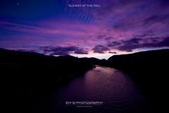 Sunset at the Gail (em-si) Tags: sunset nature river landscape austria evening abend österreich sonnenuntergang natur kärnten carinthia gail fluss landschaft villach nikond800 nikon1635
