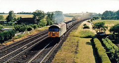 56082 (marcus.45111) Tags: landscape grid countryside diesel 1996 railway fields coal clag ukrailway class56 56082 ukbuilt