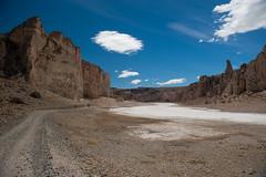 Canyon bei Cuevas de los Manos