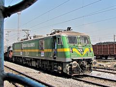 View thro my window. (Lalam Mandavkar) Tags: indianrailways irfca wag9