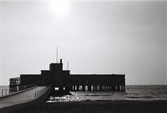 Marine Mansion (Kevin Orbitz) Tags: bw white black max film analog 35mm t nikon kodak 400 mansion analogue f80 n70 florya atark