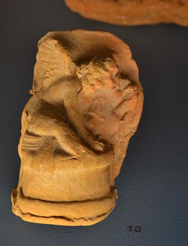 Moldmade terracotta figurine of Eros from Aiani