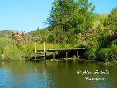 Río Guadiana (azalvidebassadone) Tags: españa naturaleza portugal nature water rio river landscape spain agua nikon jetty paisaje embarcadero