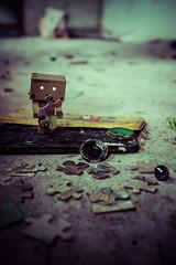 ..-,.- (3viltunes) Tags: alone small simple yotsuba danbo revoltech danboard