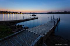 Tranquility (hak87) Tags: blue sunrise singapore reservoir hour lower seletar