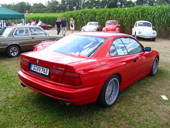 BMW Alpina B12 5.0 Coupé 1993 (Zappadong) Tags: auto classic car automobile alpina voiture days 1993 coche classics bmw oldtimer 50 schloss oldie carshow coupé b12 youngtimer automobil dyck e31 2013 oldtimertreffen zappadong