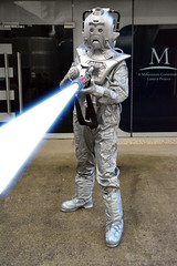 Cyberman at the NSC 2014 (1) (masimage) Tags: trooper scarf jack soldier costume cosplay who weekend space leicester centre telos national doctor captain scifi british dalek tardis cyberman weekender unit harkness nsc jellybaby cyberus gallifrey cybershade britscifi