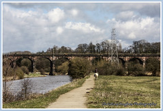 Dutton Viaduct (frodshamgirl) Tags: river viaduct weaver dutton