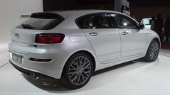Qoros 3 hatch 03 -- Geneva Motor Show -- 2014-03-09 (NavDam84) Tags: 3 hatchback genevamotorshow worldcars qoros qoros3 2014genevamotorshow