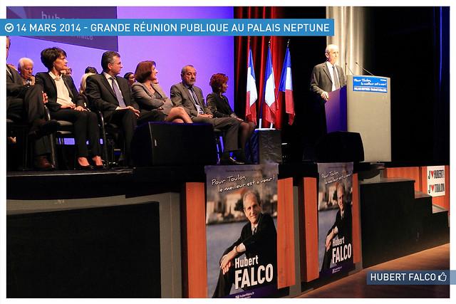 Grande réunion publique au Palais Neptune