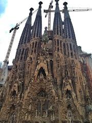 Lla Sagrada Familia par Gaudi