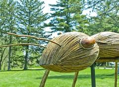 Ant (Ray Horwath) Tags: sculpture nature illinois nikon ant arboretum tamron chicagoland lisle mortonarboretum horwath bigbugs tamronlens davidrogers d700 rayhorwath tamron28mm300mmlens