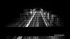 Station (Thieuma LightGraff) Tags: blackandwhite station train gare noiretblanc rails blacknwhite bnw uploaded:by=flickrmobile flickriosapp:filter=nofilter