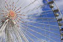 Round and round! (Magryciak) Tags: trip travel cruise blue sky france colour wheel canon eos marseille europe ride