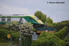 4001 approaches Portlaoise, 23/5/14 (hurricanemk1c) Tags: irish train rail railway trains railways caf irishrail intercity 2014 portlaoise 4001 mark4 iarnród éireann iarnródéireann 1100heustoncork