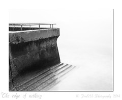 The edge of nothing (Fred255 Photography) Tags: uk longexposure sea england blackandwhite seascape beach canon usm eastsussex manfrotto saltdean haida markiii llens greatphotographers ef1740mmf4lusm nd1000 canoneos1dsmarkiii leeholder fred255 greaterphotographers ©fred255photography2014