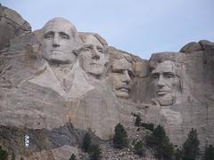 Mount Rushmore National Memorial, Keystone, South Dakota, 8/23/2013 09:18AM (Craig Walkowicz) Tags: trees sculpture statue stone southdakota rocks carving keystone mountrushmore georgewashington presidents abrahamlincoln thomasjefferson bluff theodoreroosevelt ccw