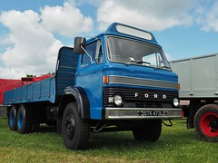 Ford D Series - STK 473L (Ben Matthews1992) Tags: show old uk england classic ford truck vintage wagon cheshire britain rally great transport historic steam lorry commercial vehicle preserved 1972 preservation waggon haulage 2015 6wheeler kelsall dseries dropside stk47l