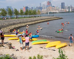Free Public Kayaking on the Hudson River, Hoboken, New Jersey (jag9889) Tags: usa festival river newjersey kayak unitedstates unitedstatesofamerica nj event kayaking wa hudsonriver paddling hoboken mwa waterway gardenstate kayaker hudsoncounty cwd 2015 maxwellplace metropolitanwaterfrontalliance cityofwaterday waterfrontalliance jag9889 2015cityofwaterday 20150718