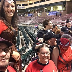 "GalaxyFest was at the ballpark today for the Avengers Sky Sox game. / on Instagram https://instagram.com/p/53t4unsmsH/ • <a style=""font-size:0.8em;"" href=""http://www.flickr.com/photos/40197289@N03/20031142270/"" target=""_blank"">View on Flickr</a>"
