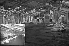 Abandoned Prison #38 (PositiveAboutNegatives) Tags: leica blackandwhite closed empty fil sl prison jail vacant deserted penitentiary shutdown correctionalinstitution correctionalfacility leicaflexsl 35mmelmarit adoz silvermax