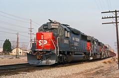 Shiny - part 2 (GRNDMND) Tags: trains railroads southernpacific espee sp locomotive emd gp60 pomona california