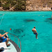 Water jumping at our fishing near Racha Noi