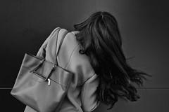 Soraya (johann walter bantz) Tags: womensday creative inspiration inspiré artofvisual france xpro2 fujifilm bag wall monochrome fashionabelste blackwhite fashion soraya