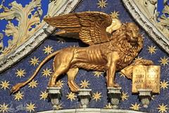 Leone Marciano (Luca Bobbiesi) Tags: art venezia basilica basilicadisanmarco leone leonealato leonemarciano veneto canoneos7d canonef100400mmf4556lisusm
