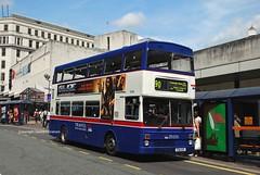 3066 Bull Street, Birmingham (MCW1987) Tags: travel west midlands national express 3066 f66xof mcw metrobus mk2 mk2a