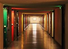 rue du corbusier (olivierkaminski) Tags: corbusier unité dhabitation unesco firminy france mondial couleurs patrimoine flickr estrellas