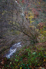 El abismo (SantiMB.Photos) Tags: 2blog 2tumblr 2ig río river baztán cascada waterfall xorroxin navarra otoño vacaciones2015 iñarbil españa esp