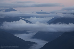Mystery and Wonder (right2roam) Tags: washington olympic nationalpark mountains hurricaneridge mysterious clouds valley veiled peninsula pacific northwest right2roam