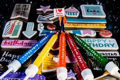 #Macro Monday - Happy 10 Years ! - second idea (J.Weyerhäuser) Tags: happy10years hmm macromonday birthday preiser tiny people