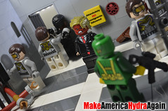 Immigration Policy (Explored) (WattyBricks) Tags: lego president donald trump ms marvel kamala khan black panther tchalla wakanda immigrants welcome policy united states xenophobia