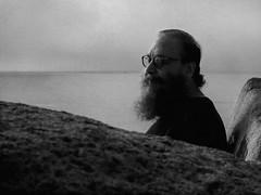 calm (MacroMarcie) Tags: htt texture texturetuesday beard grain frenchkiss photoshop blackandwhite monochrome tuesdaystextures portrait beach ocean coast danapoint
