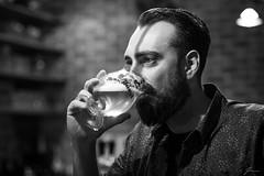 Self Portrait (Jan Moons) Tags: selfie portrait blackandwhite black blacknwhite blackwhite monochrome duvel beer belgium tasty beard bar cafe nikon nikond600 85mm 1 8 18mm nikkor prime fixed fixedlens